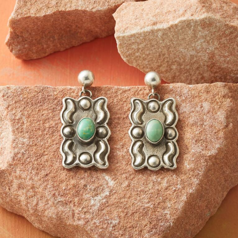TURQUOISE GALLERY EARRINGS