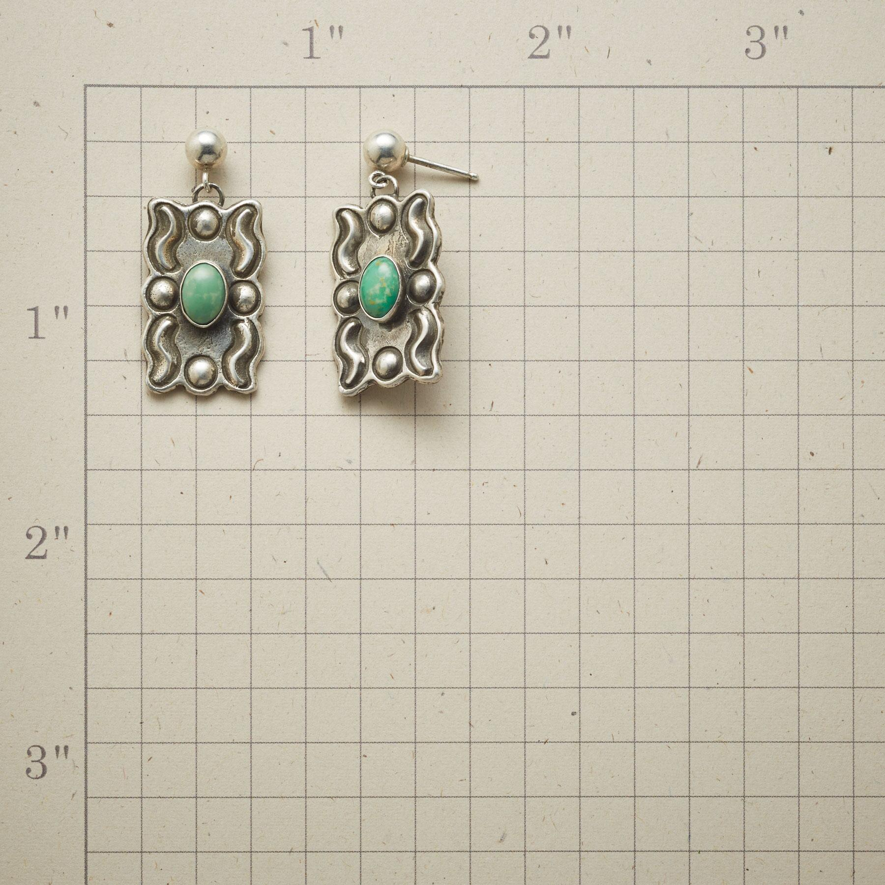 TURQUOISE GALLERY EARRINGS: View 2