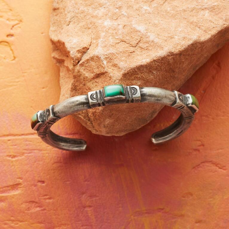LIMITED EDITION JOCK FAVOUR TURQUOISE CUFF