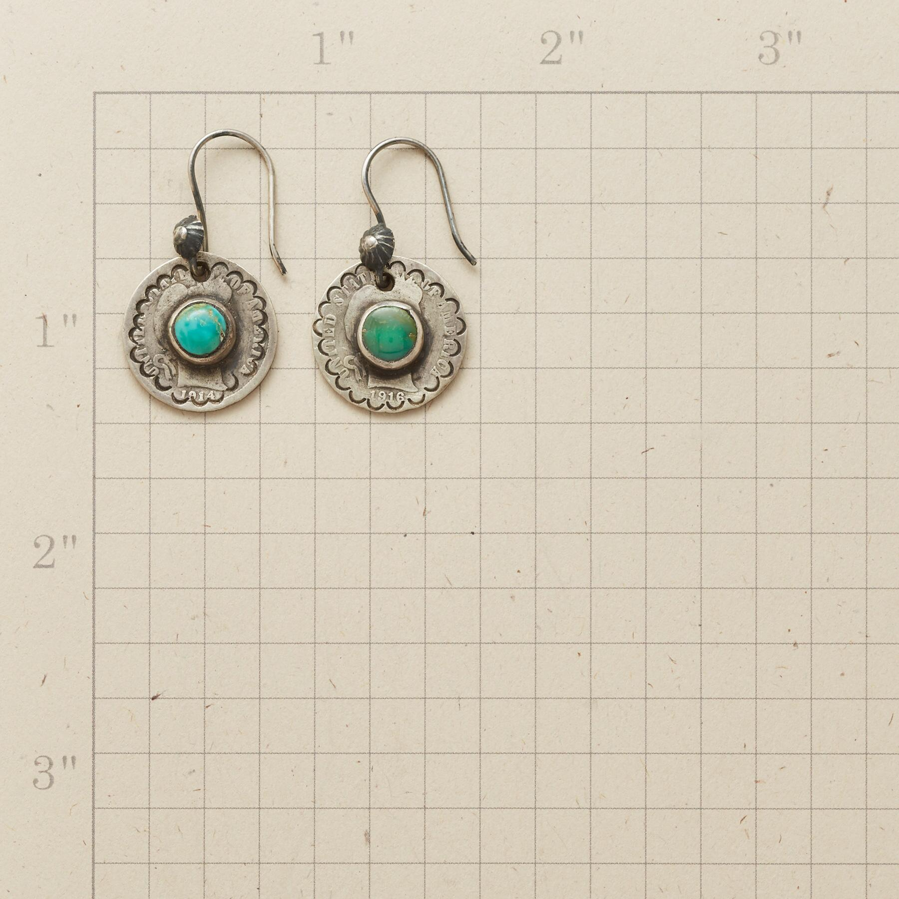 LIMITED EDITION LIBERTY DIME EARRINGS: View 2