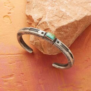 LIMITED EDITION ARROW-STAMPED CUFF