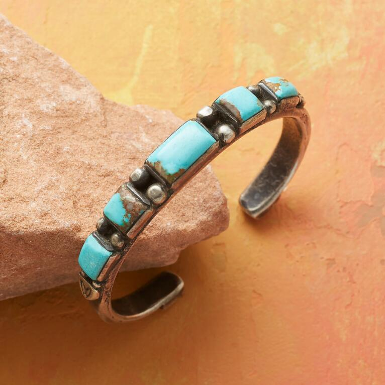 LIMITED EDITION CHEYENNE TURQUOISE CUFF