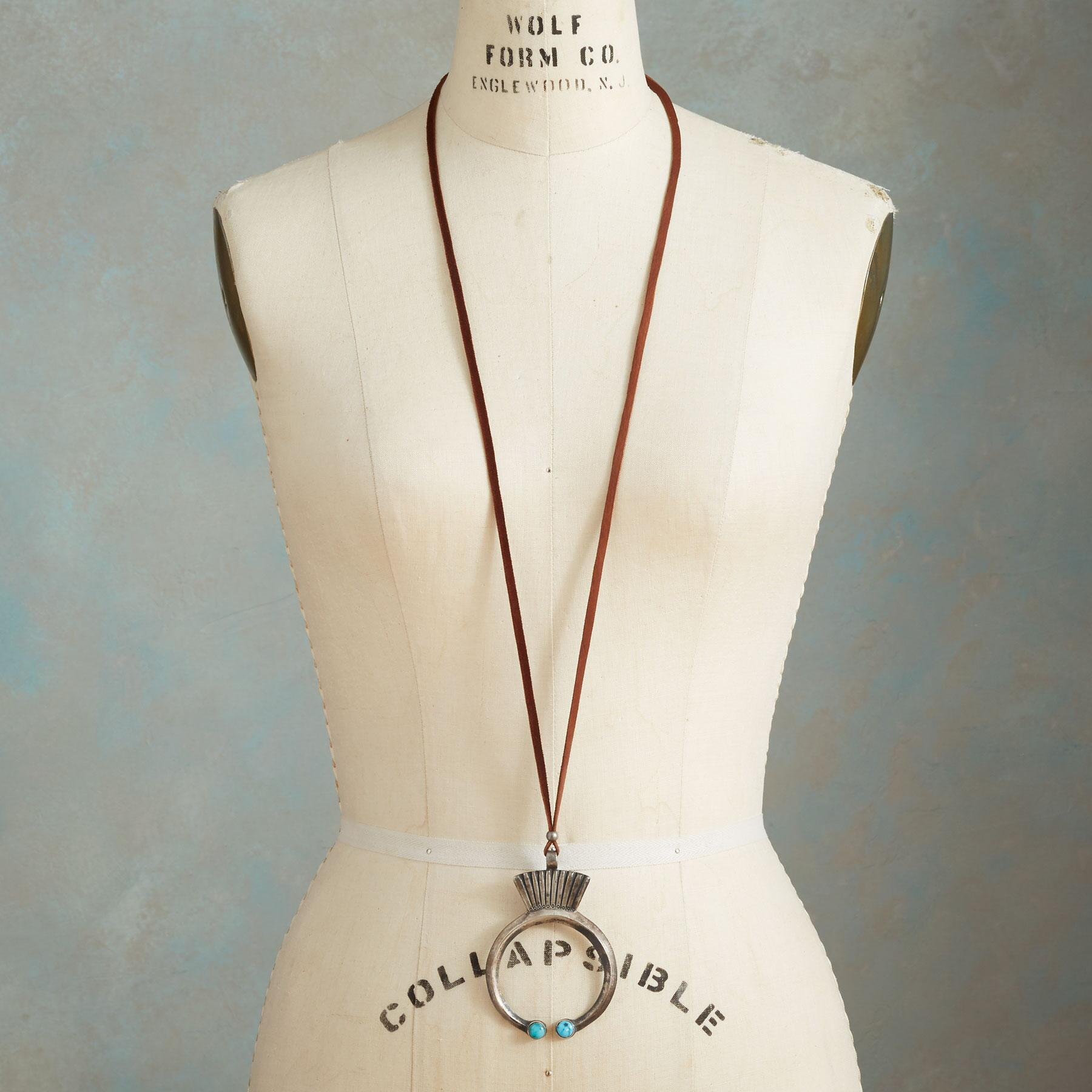 TURQUOISE-TIPPED NAJA NECKLACE: View 4