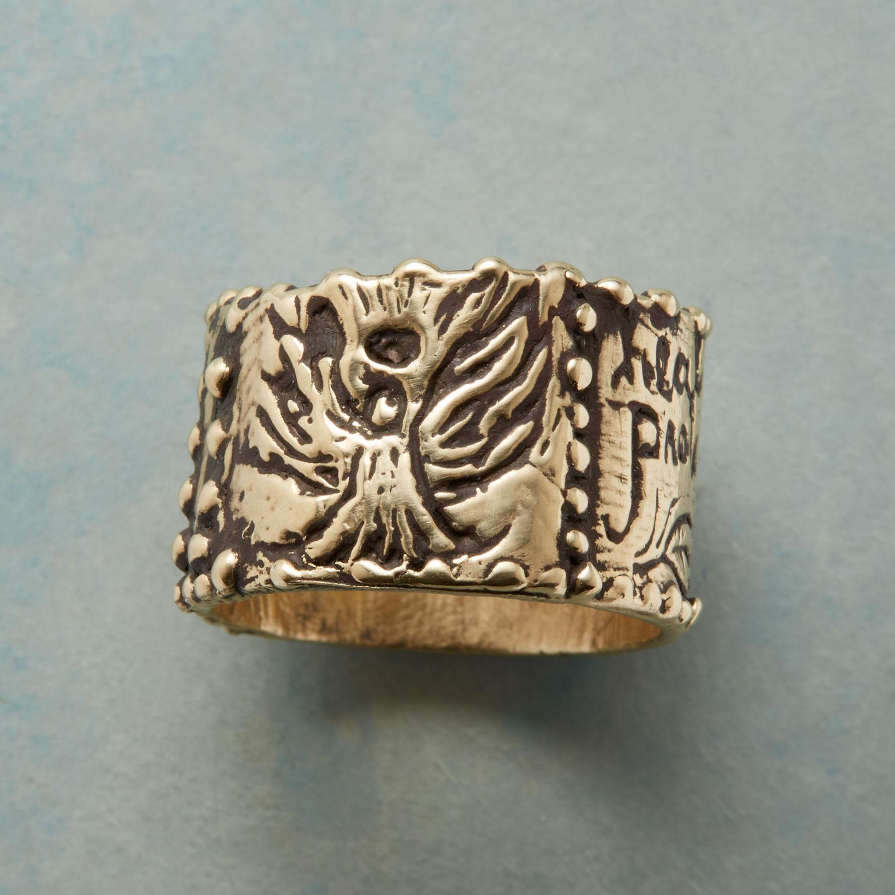 WOODLAND ANGEL RING: View 1