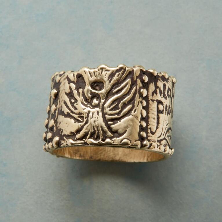 WOODLAND ANGEL RING