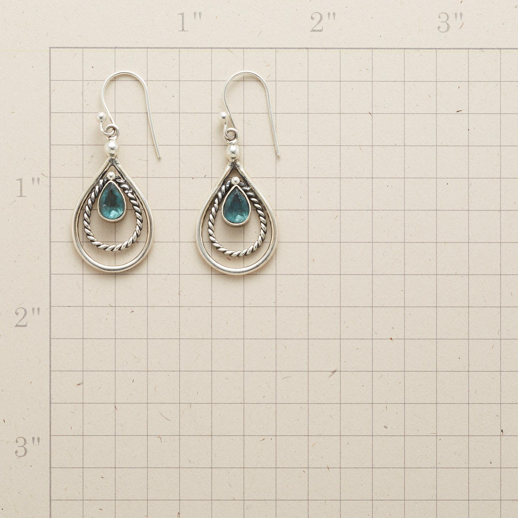 ROPED APATITE EARRINGS: View 2