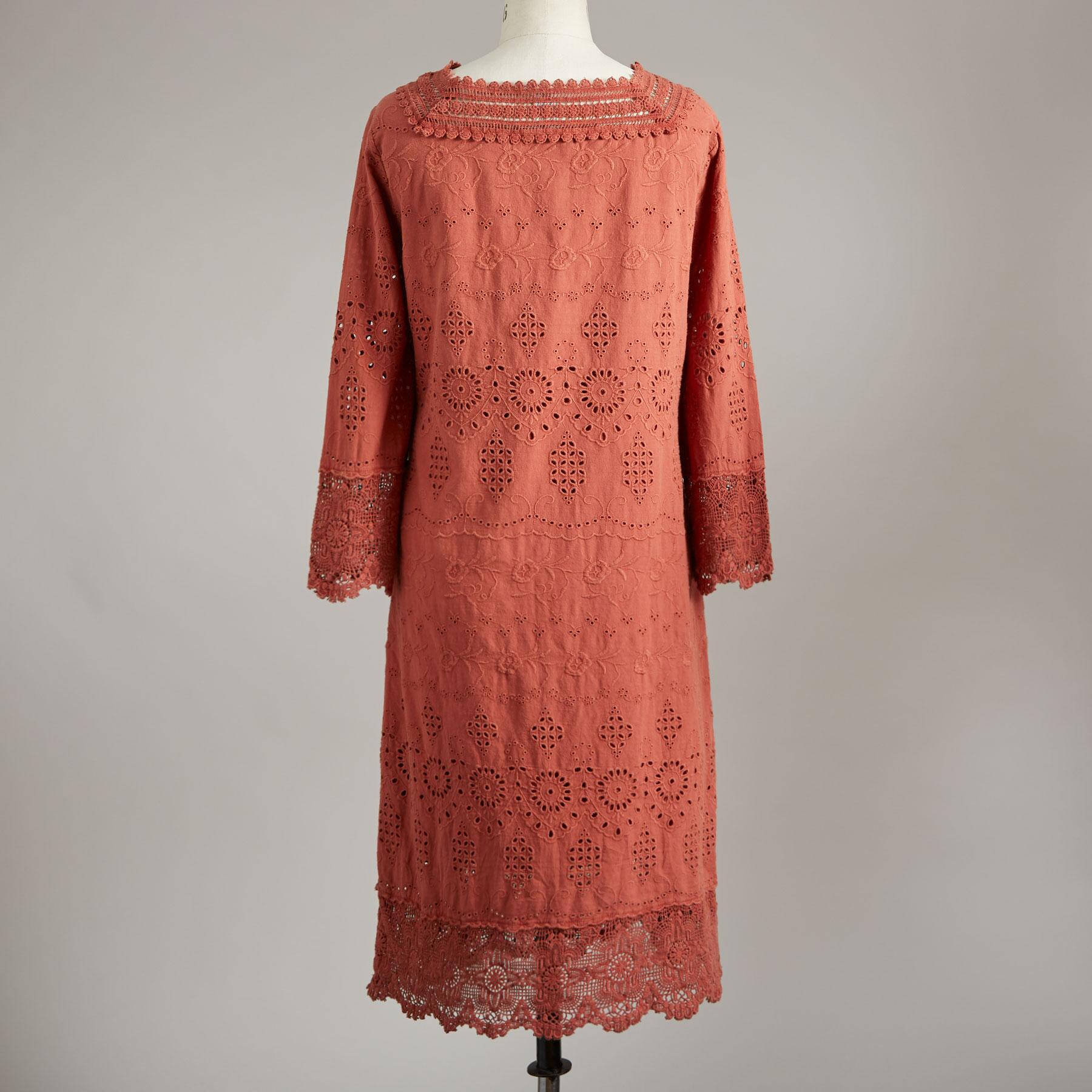 ELLISON EYELET DRESS: View 2