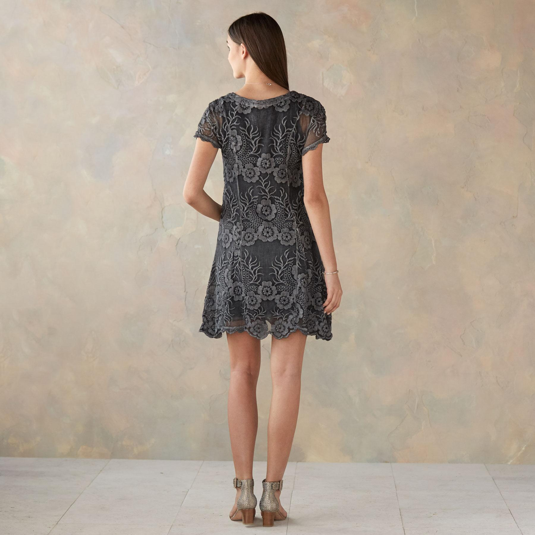 FLORAL SILHOUETTE DRESS: View 2