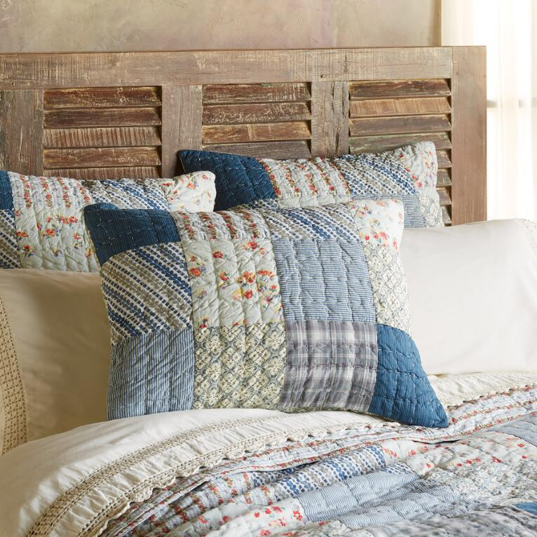 ELEANOR PATCHWORK SHAM