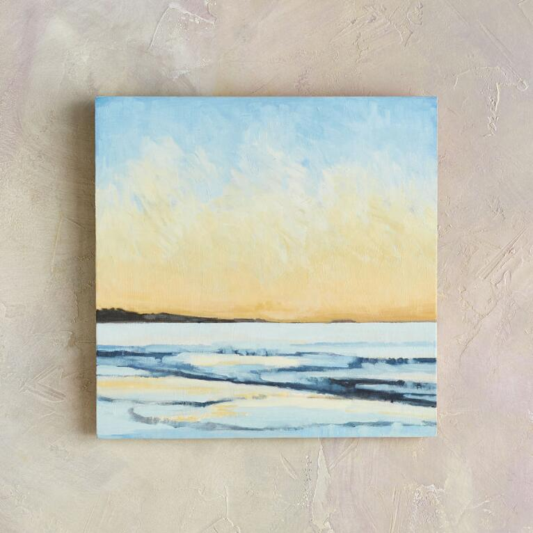 SUNRISE TIDE PAINTING