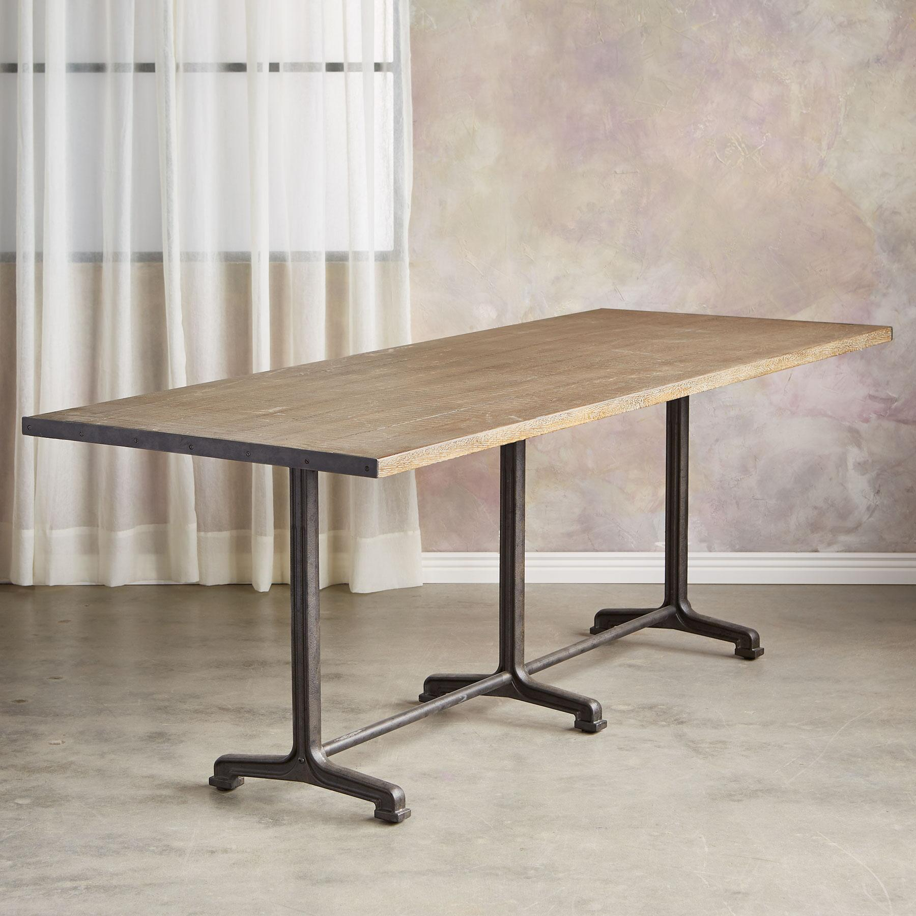 HAYES TRESTLE DINING TABLE: View 2