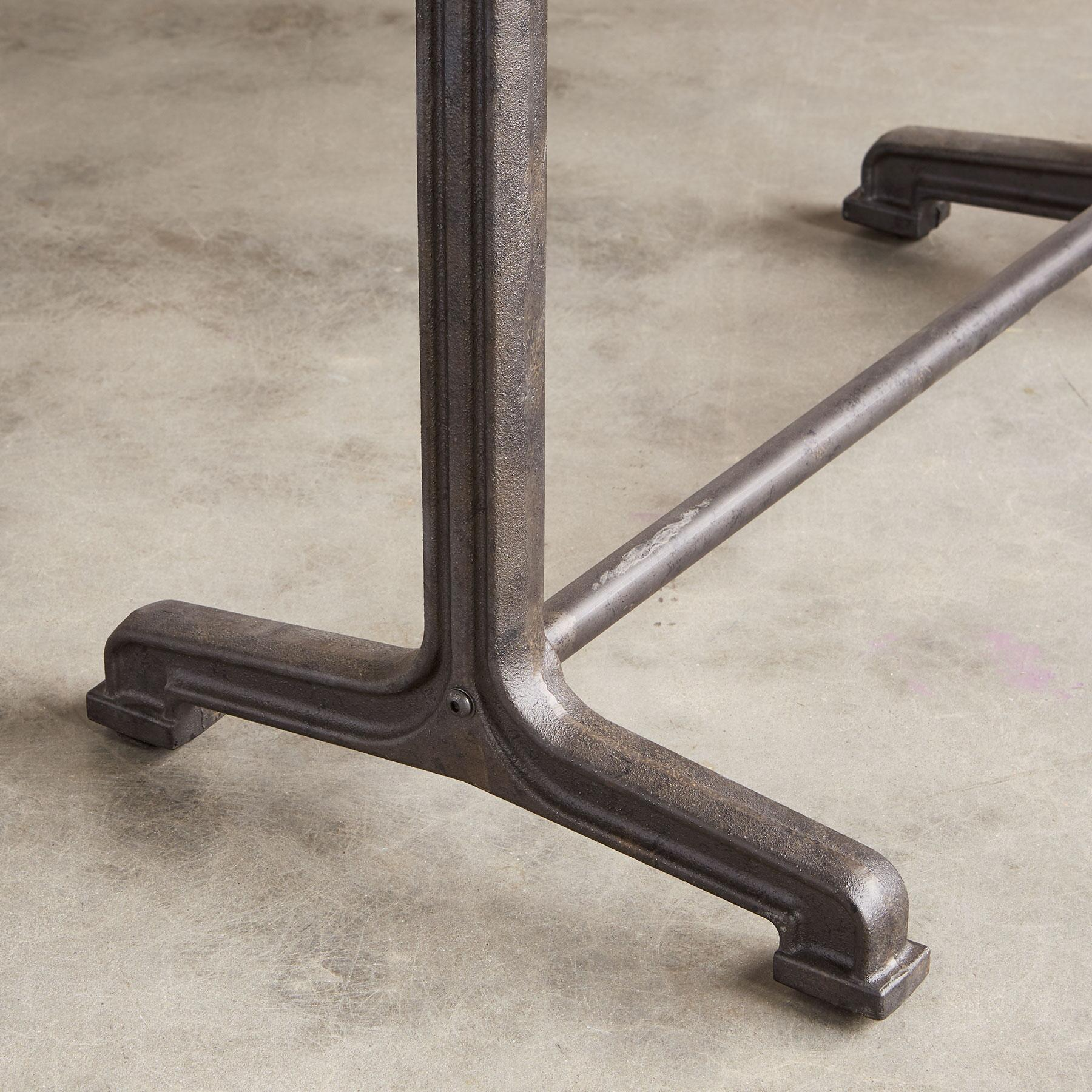 HAYES TRESTLE DINING TABLE: View 3