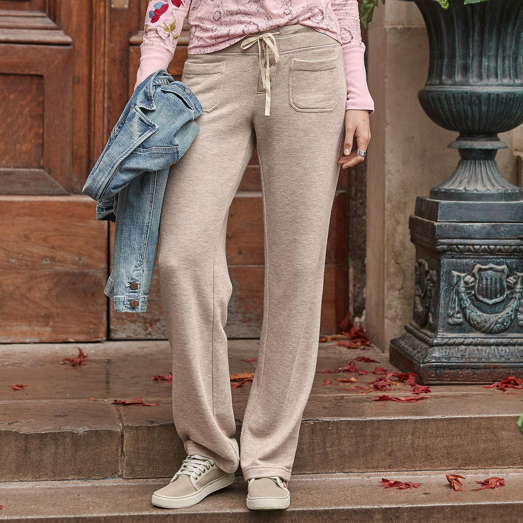 GIGI FRENCH TERRY PANTS: View 1