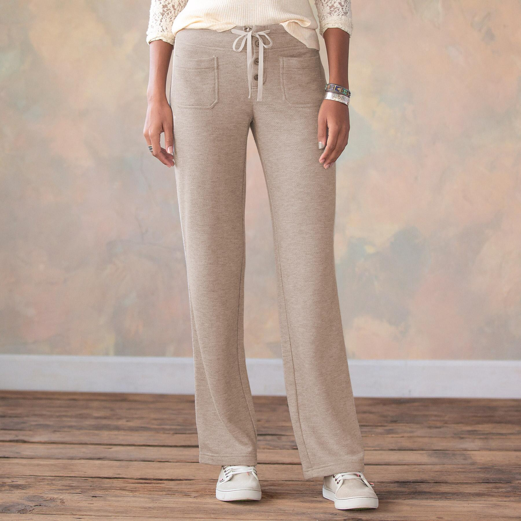 GIGI FRENCH TERRY PANTS: View 2