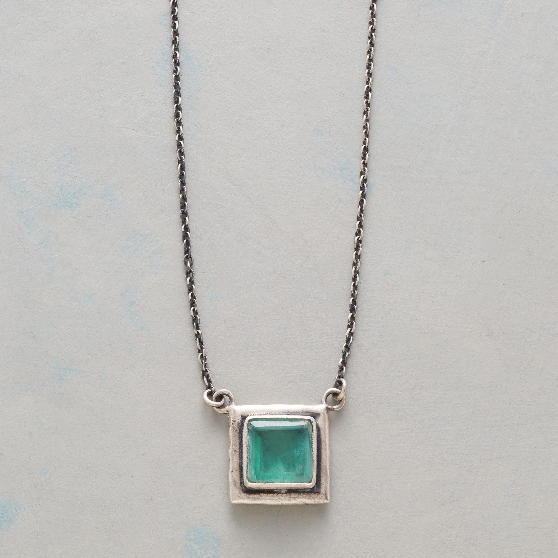 ONE SQUARED NECKLACE: View 1
