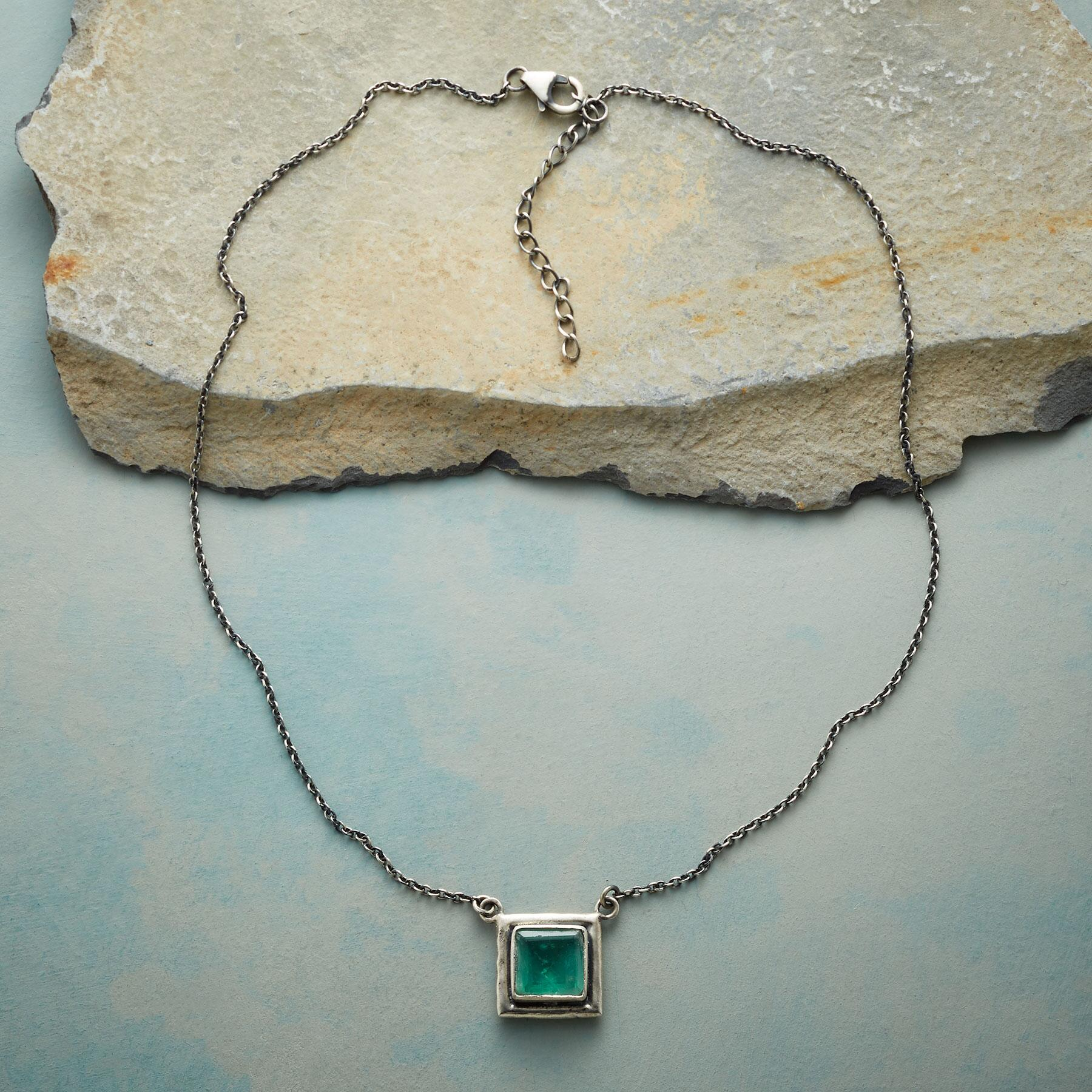 ONE SQUARED NECKLACE: View 2