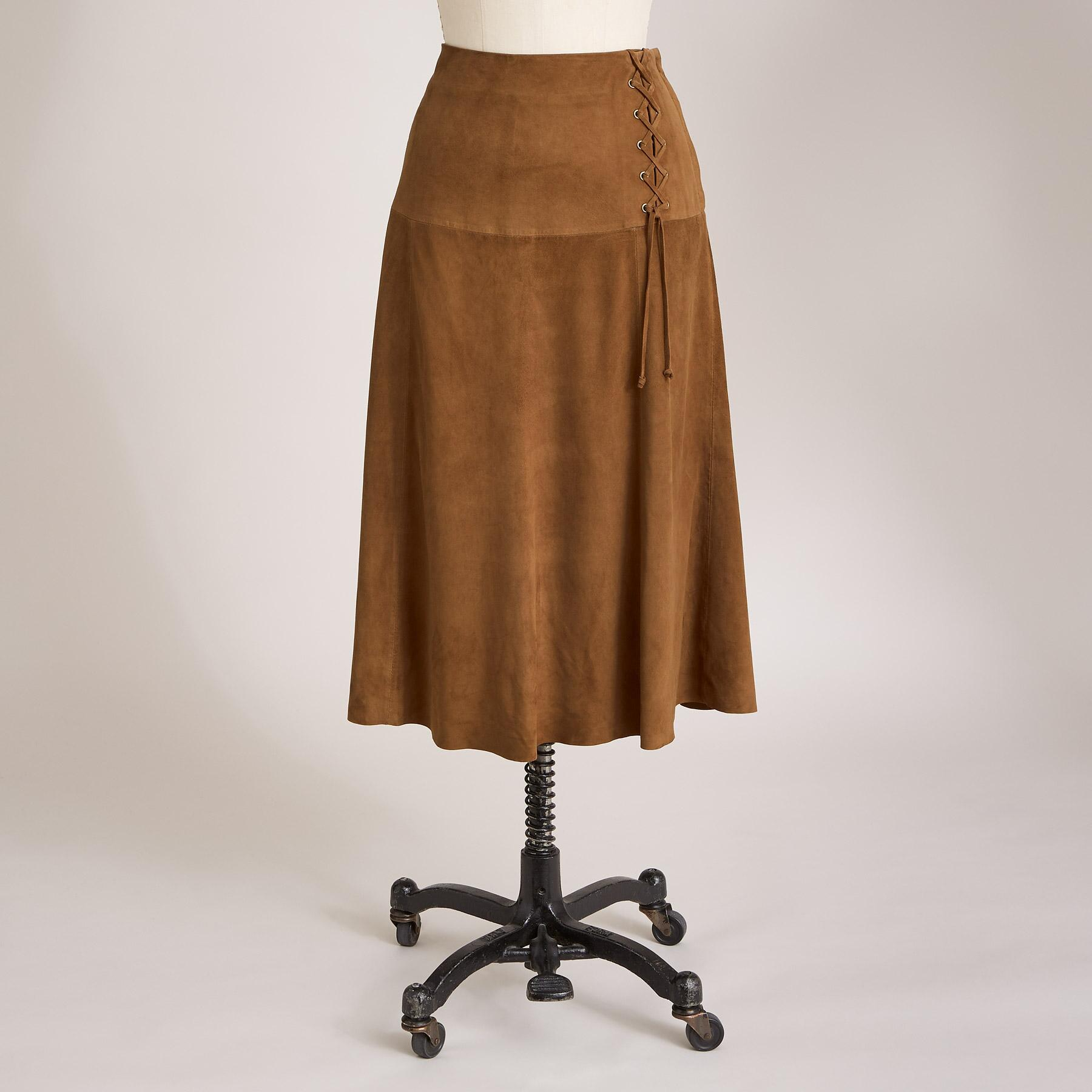 SUEDE DELIGHT SKIRT: View 2