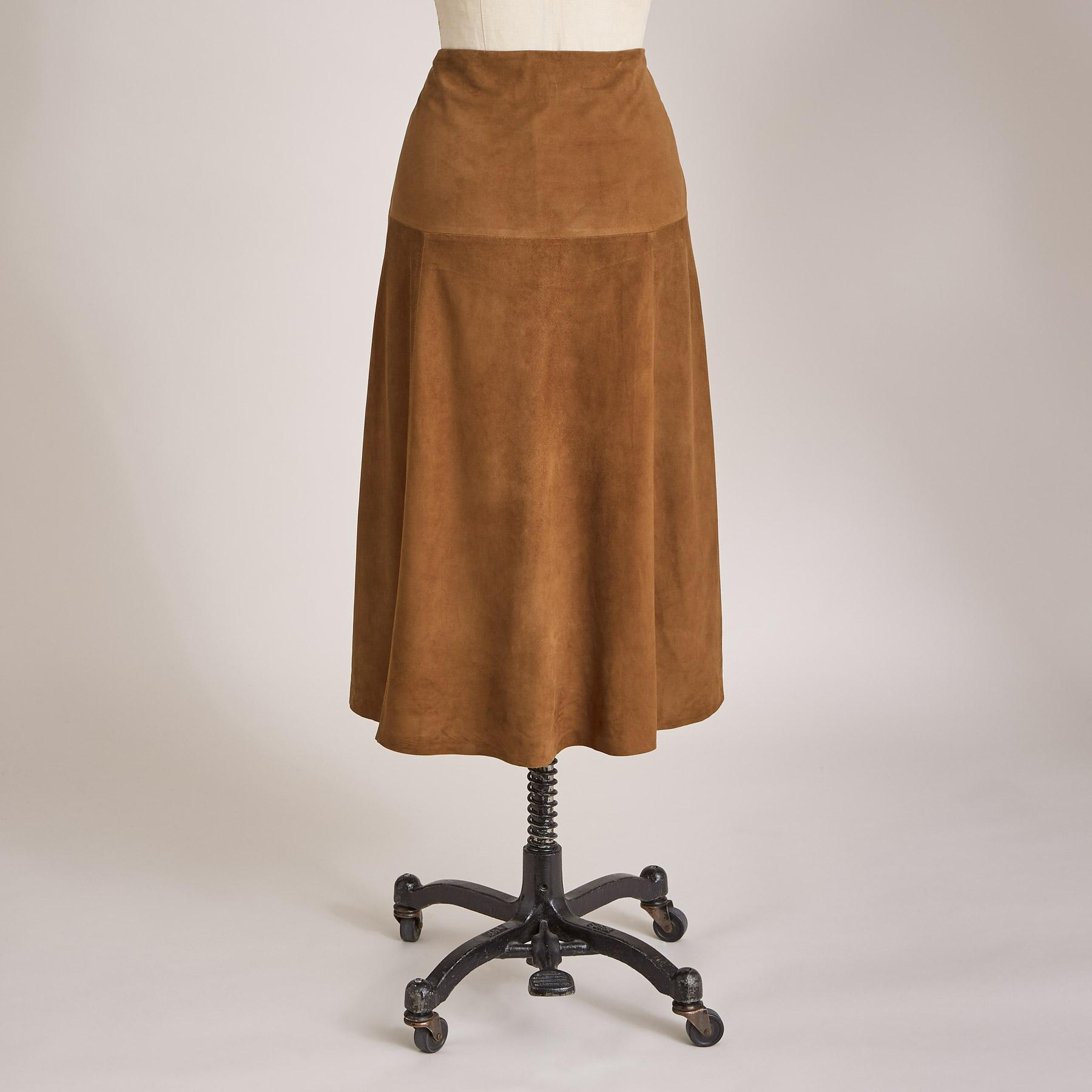 SUEDE DELIGHT SKIRT: View 3