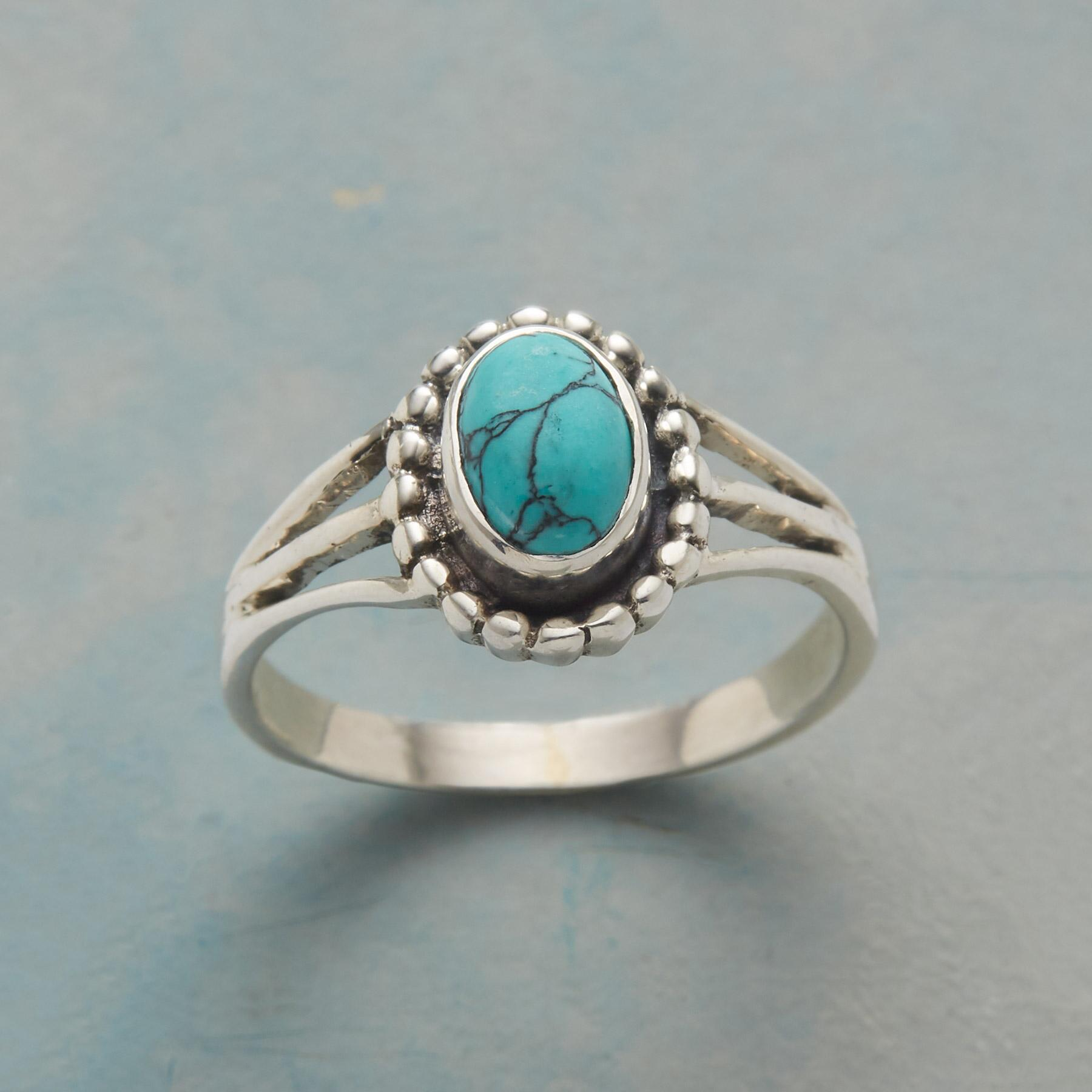 TURQUOISE SOLO RING: View 1