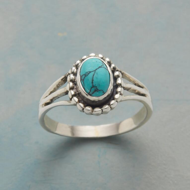 TURQUOISE SOLO RING