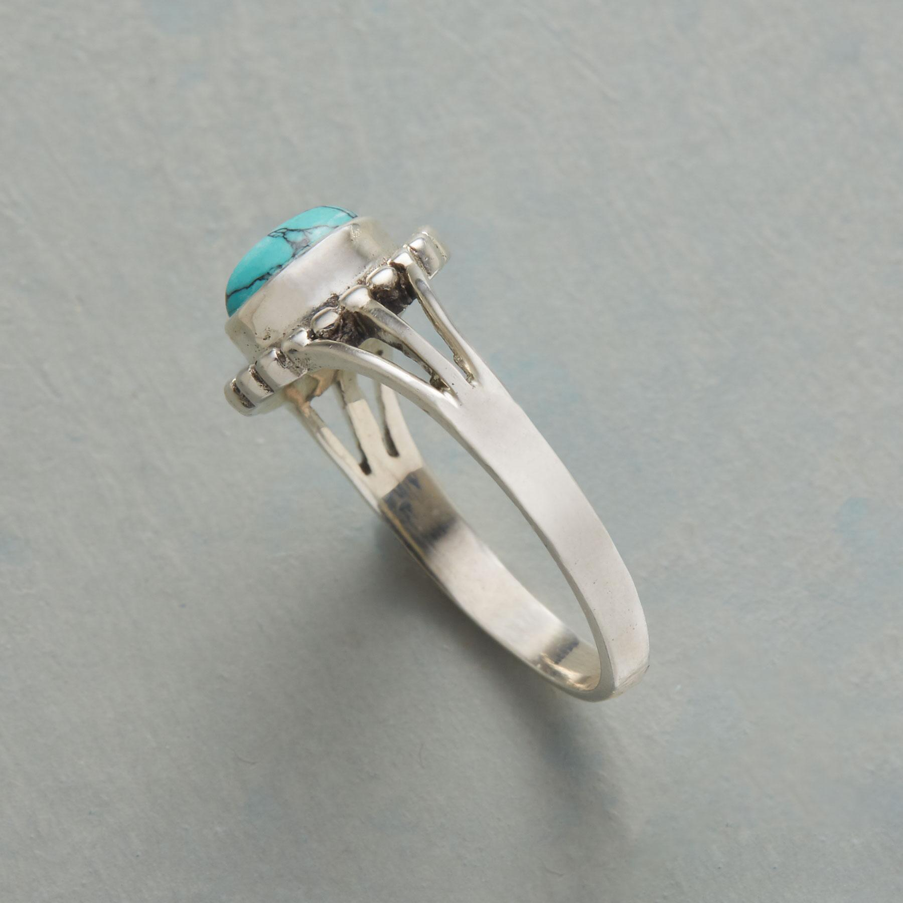 TURQUOISE SOLO RING: View 2