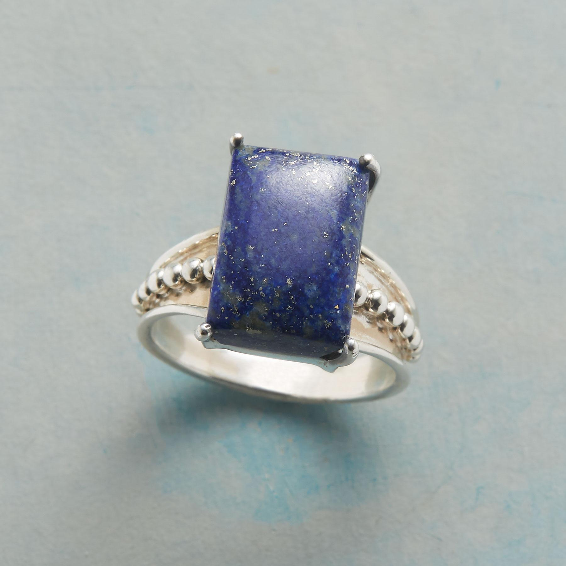 LAPIS ON THE LINE RING: View 1