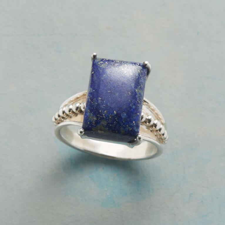 LAPIS ON THE LINE RING