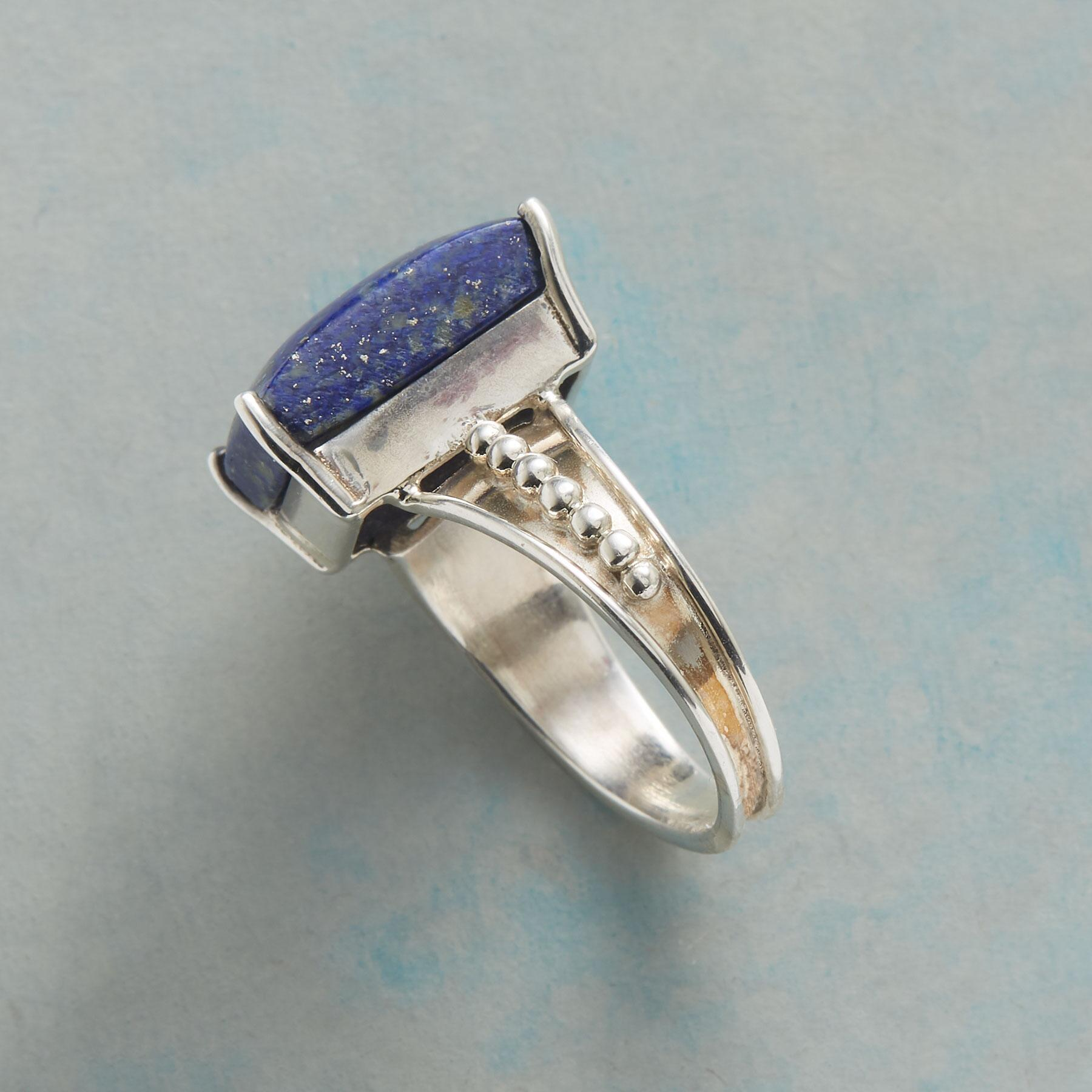LAPIS ON THE LINE RING: View 2