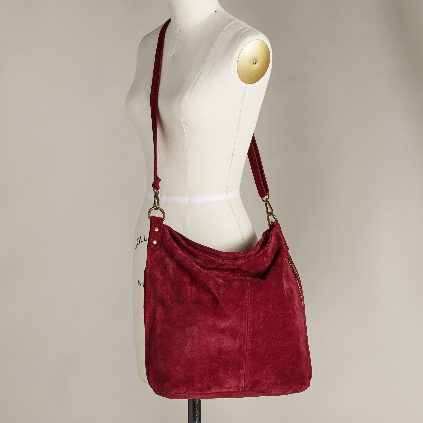 DIONNE SUEDE BAG: View 5