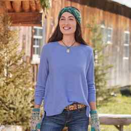 SIMPLE DAYS CASHMERE PULLOVER