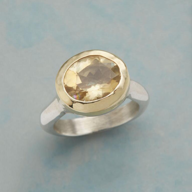 SOLID SUNSHINE RING