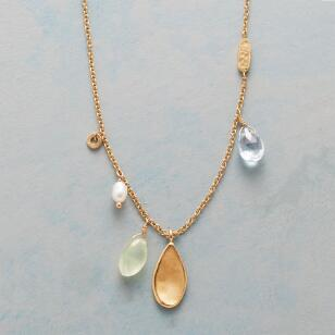 FANCIFUL GEMSTONE NECKLACE