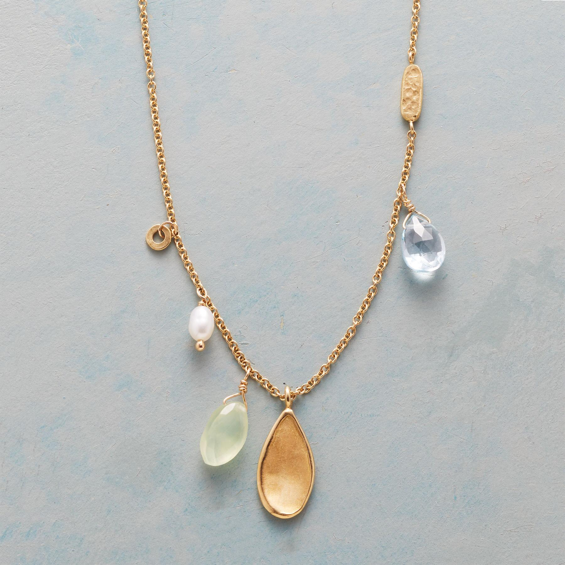 FANCIFUL GEMSTONE NECKLACE: View 1