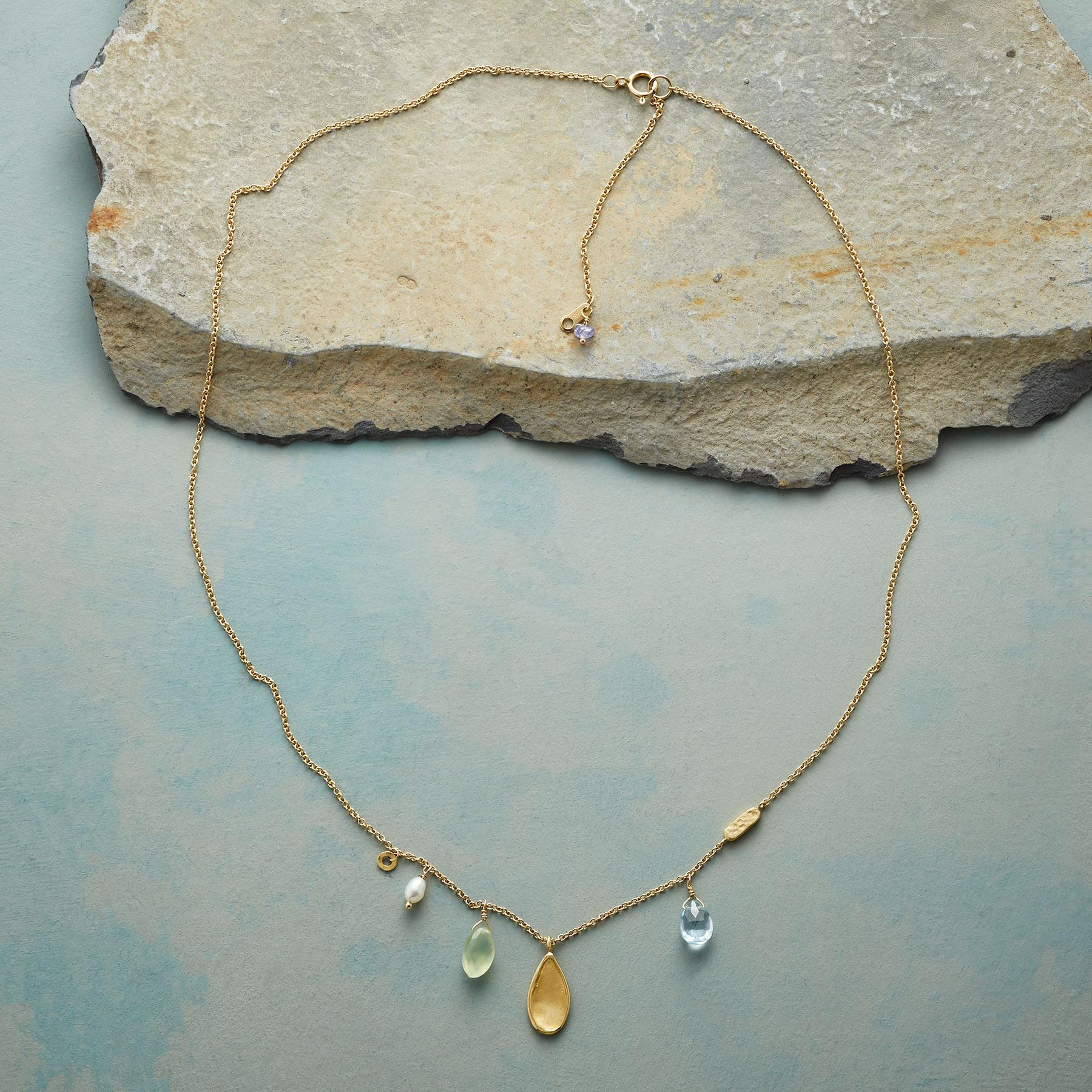 FANCIFUL GEMSTONE NECKLACE: View 2