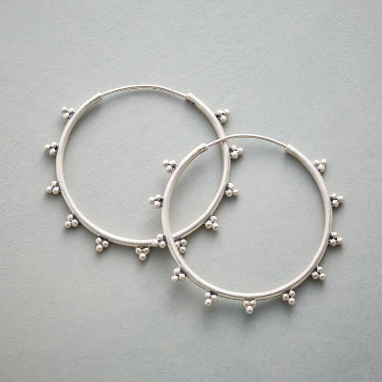 BEAD TRIO HOOPS