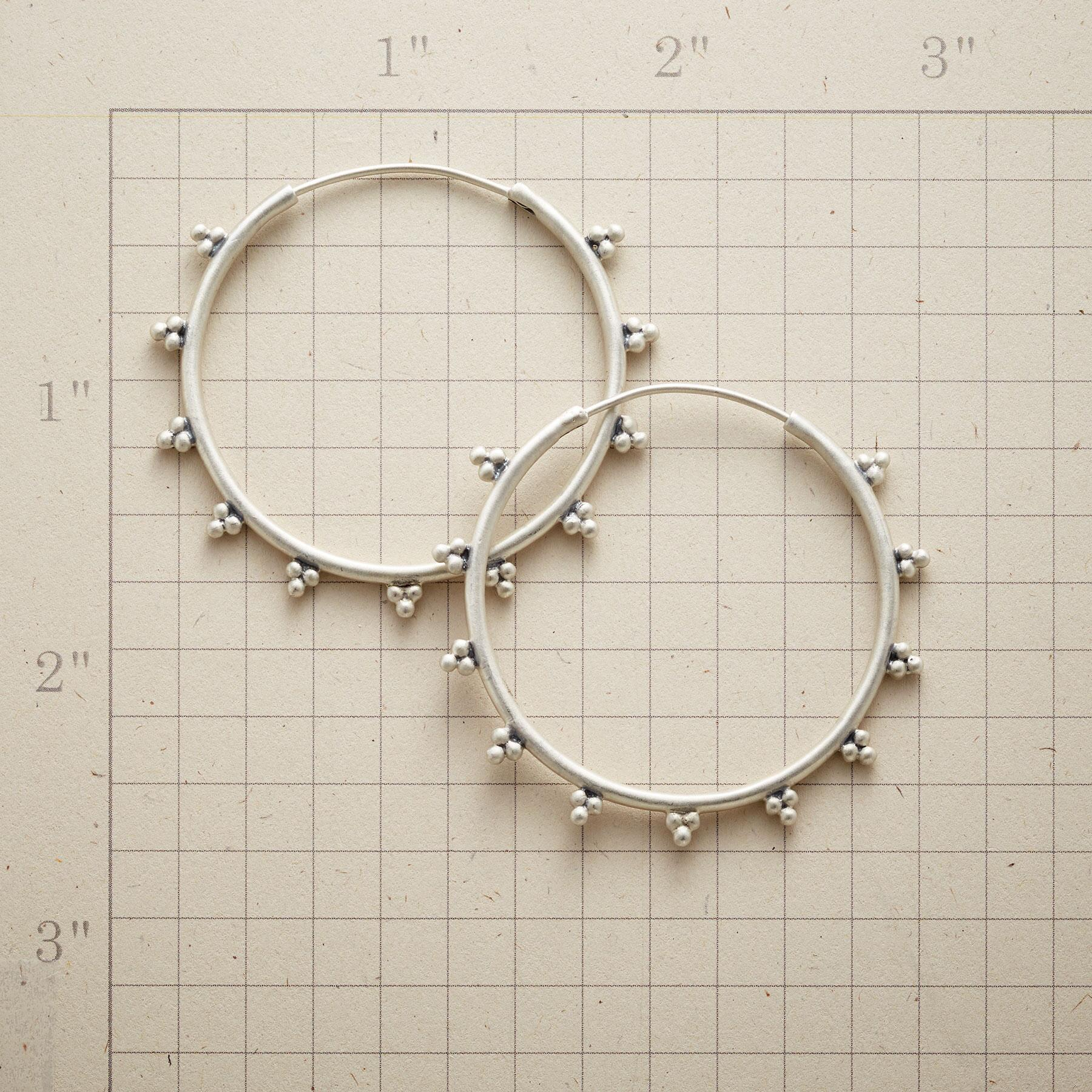 BEAD TRIO HOOPS: View 2