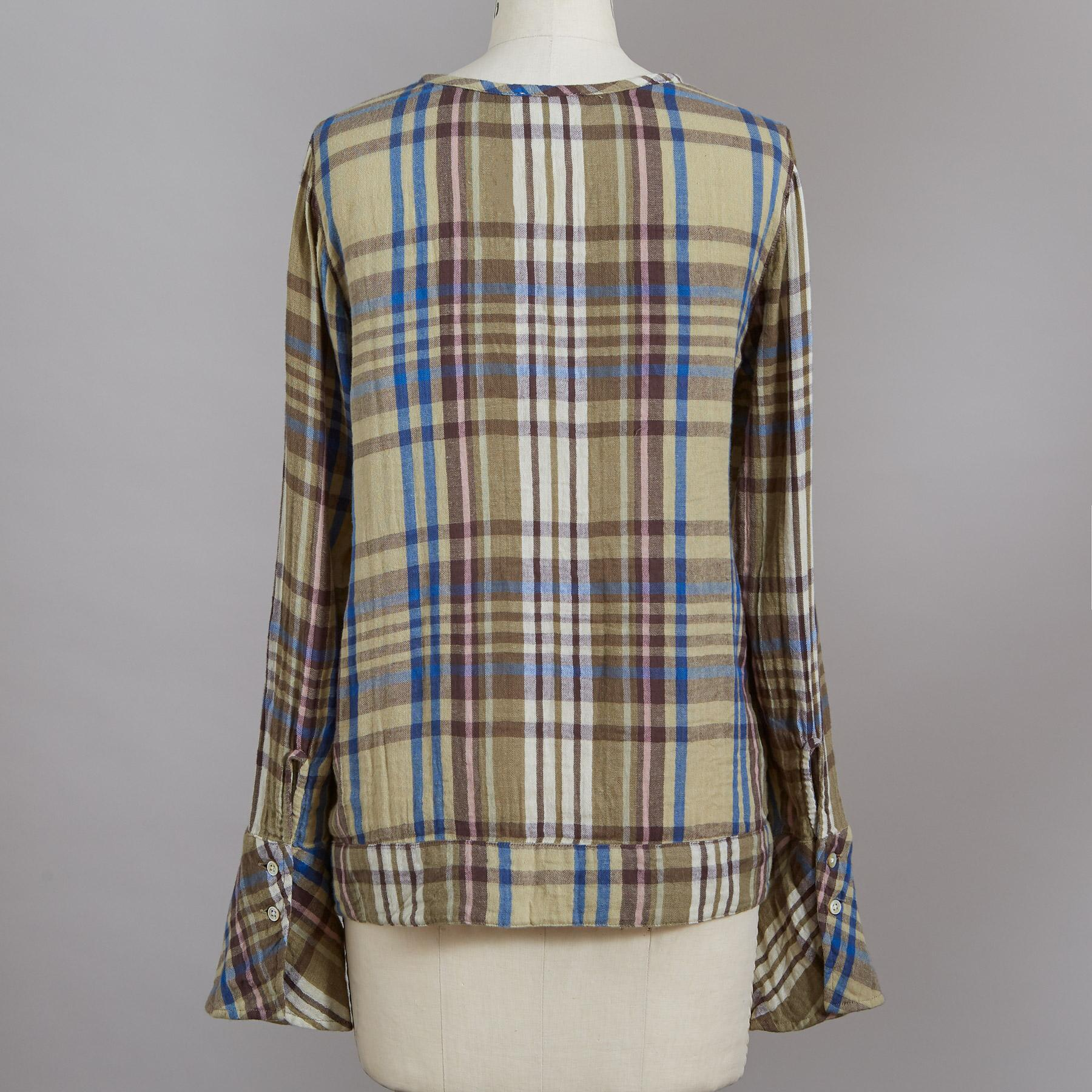 WILLOW PLAID TOP: View 3