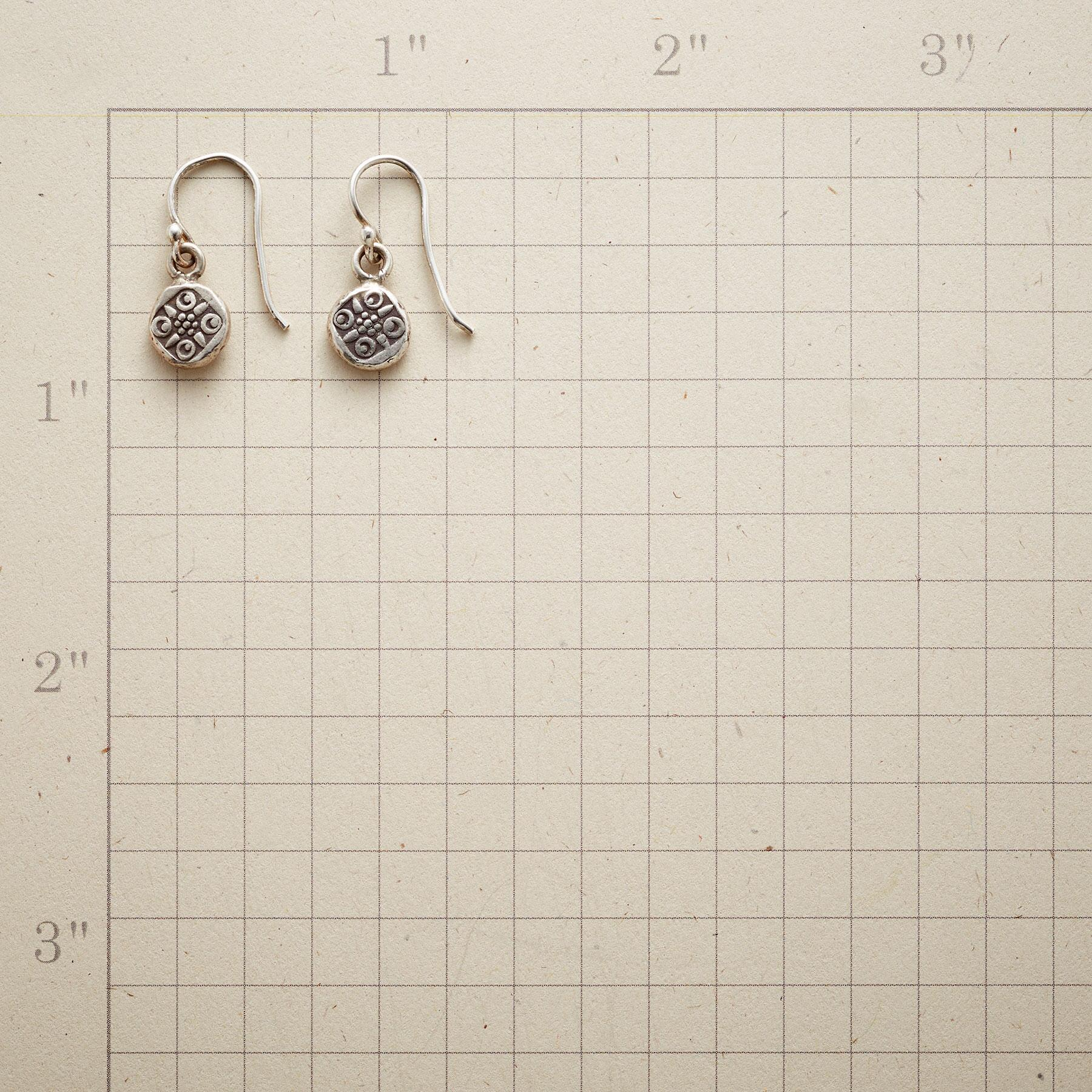 THAI BUTTON EARRINGS: View 2