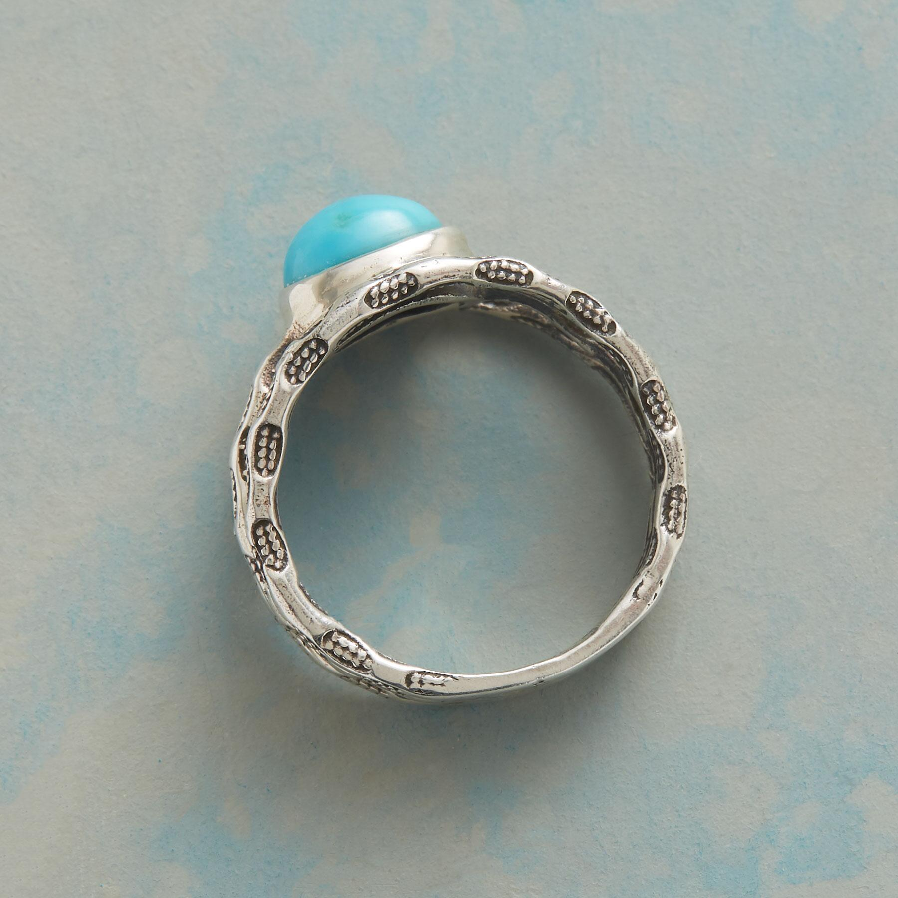 TURQUOISE THREE PART RING: View 2