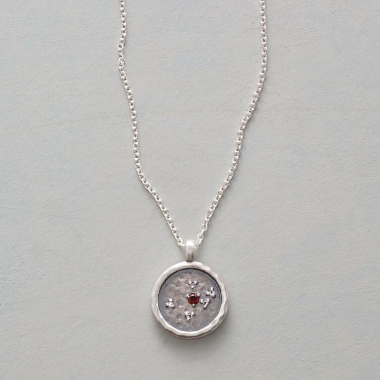 DESTINY BIRTHSTONE NECKLACE
