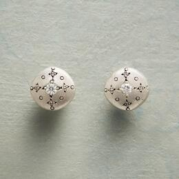 DIAMOND MOONDROPS & SPARKLE EARRINGS