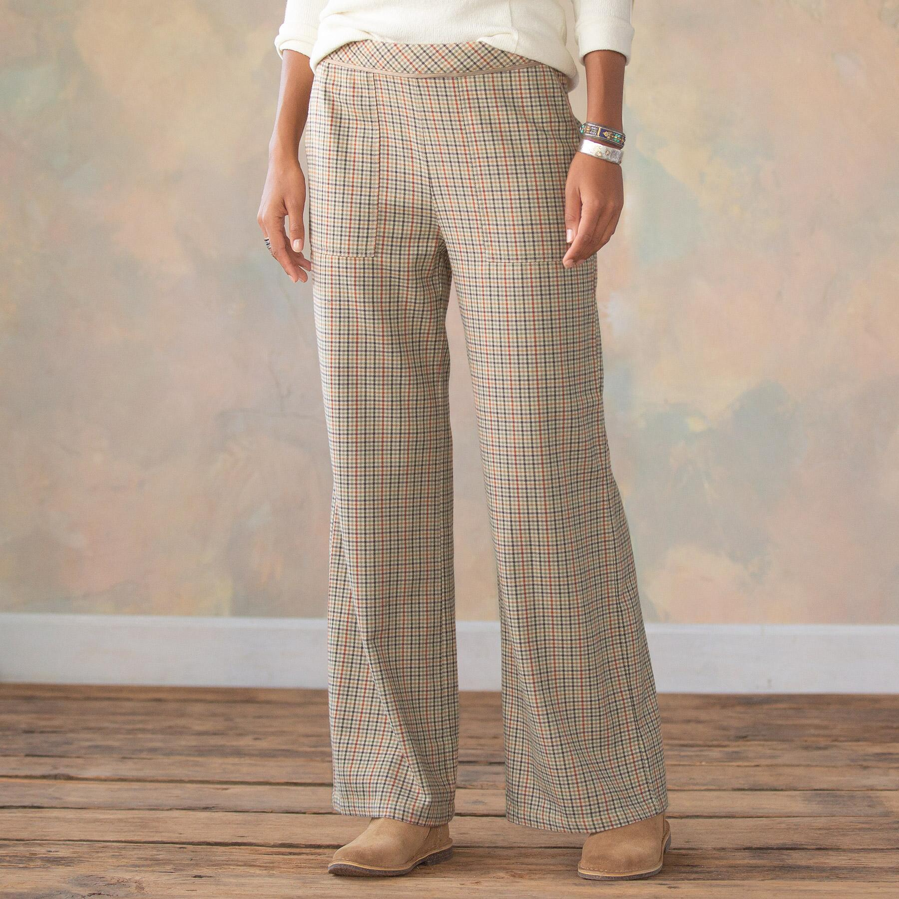 BREWSTER PLAID PANTS PETITE: View 2