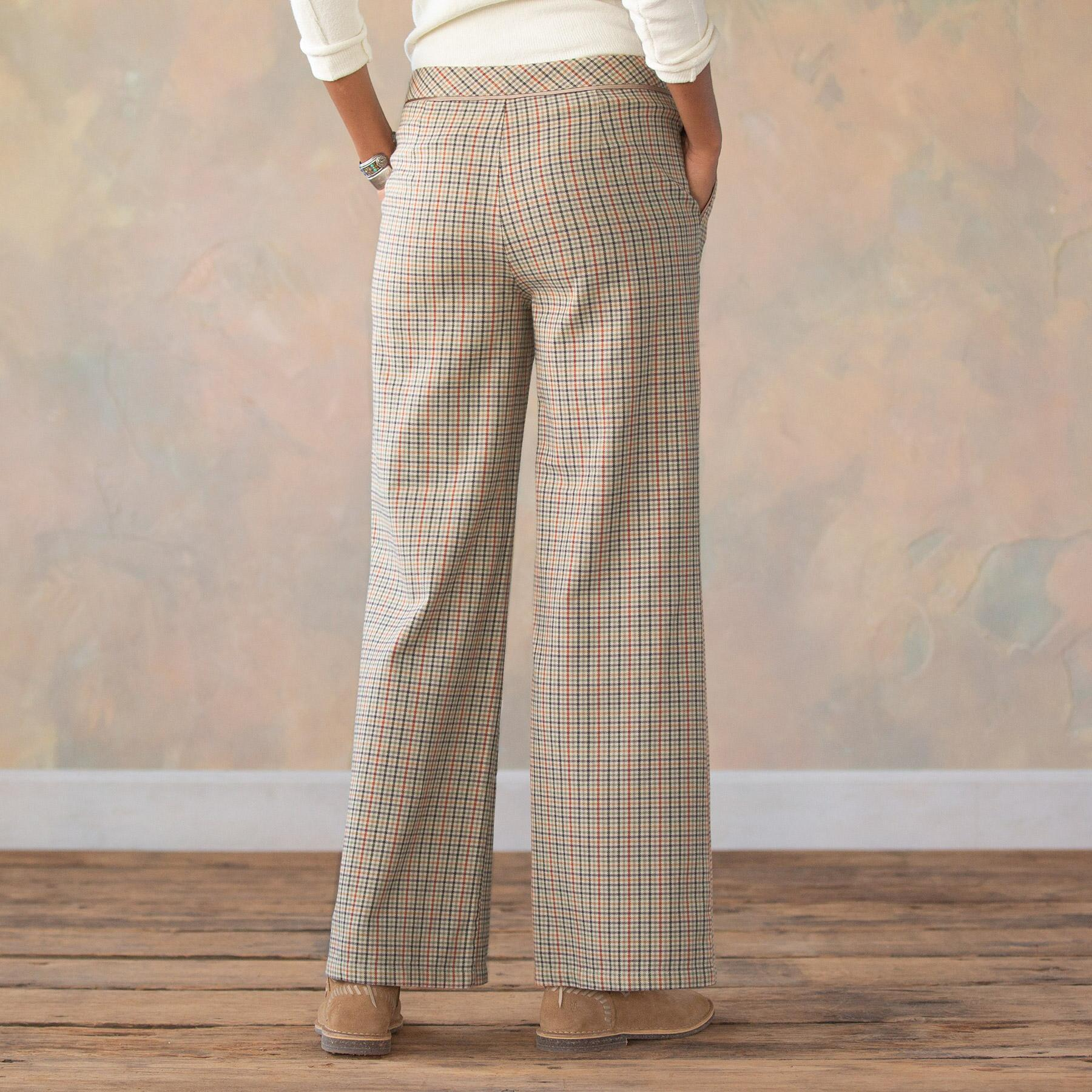 BREWSTER PLAID PANTS PETITE: View 3