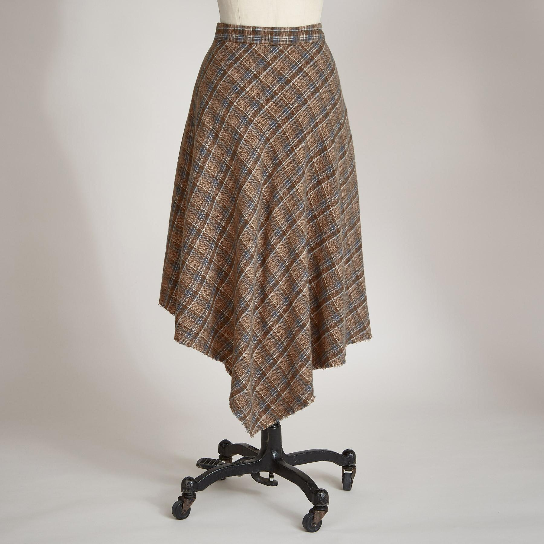 PLAID DREAM SKIRT PETITE: View 2