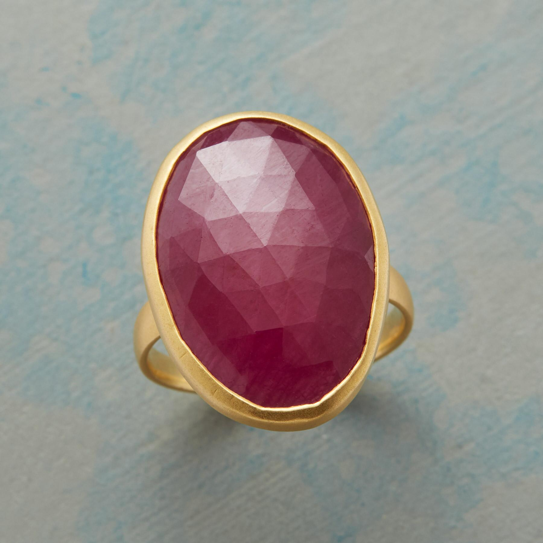 FREESTYLE RUBY RING: View 1