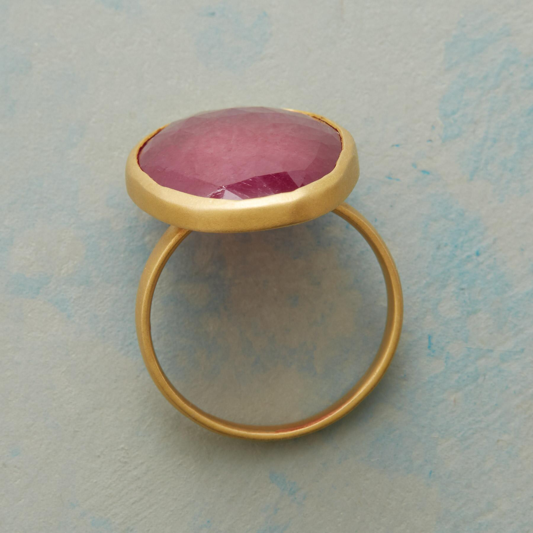 FREESTYLE RUBY RING: View 2