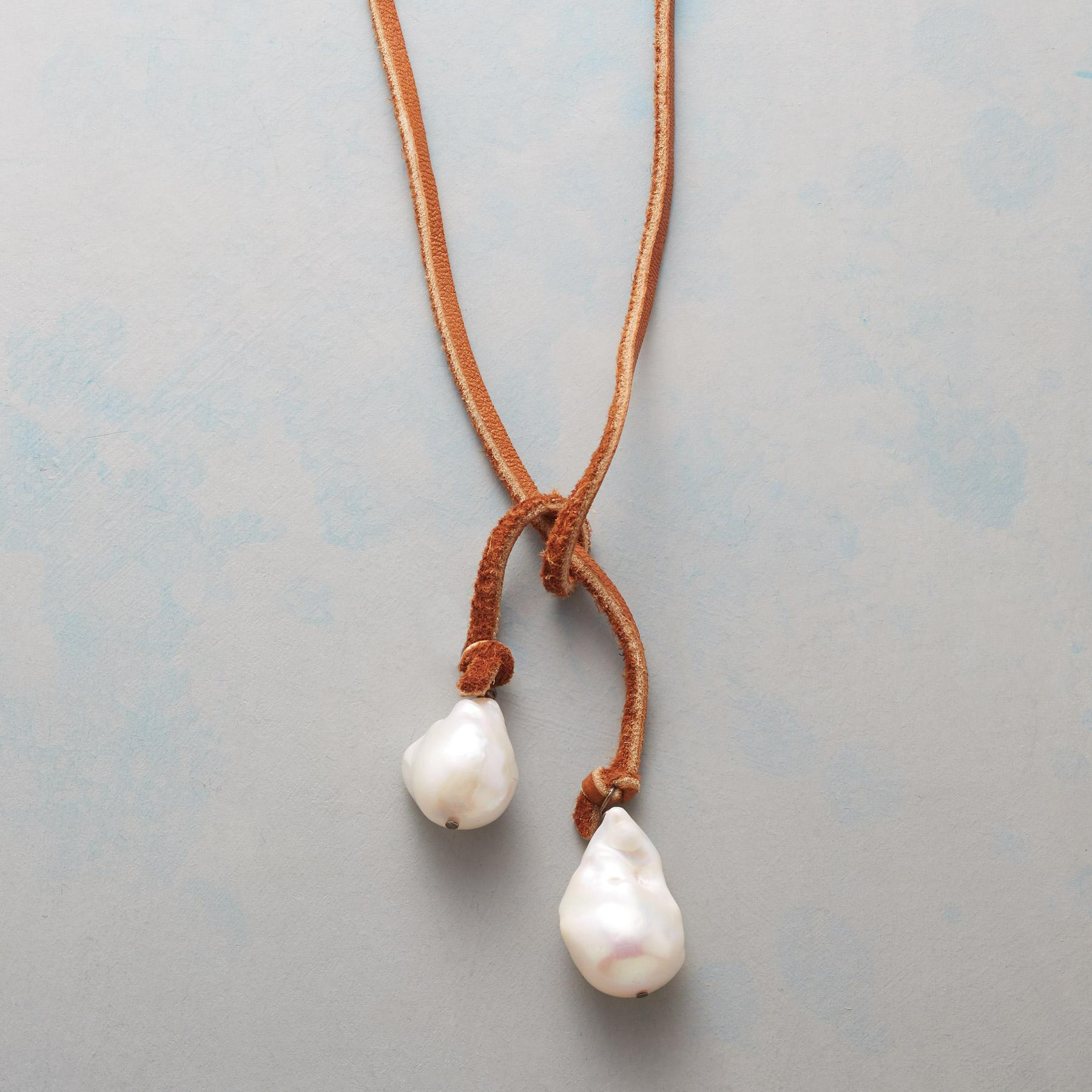 TWO OF A KIND LARIAT NECKLACE: View 1