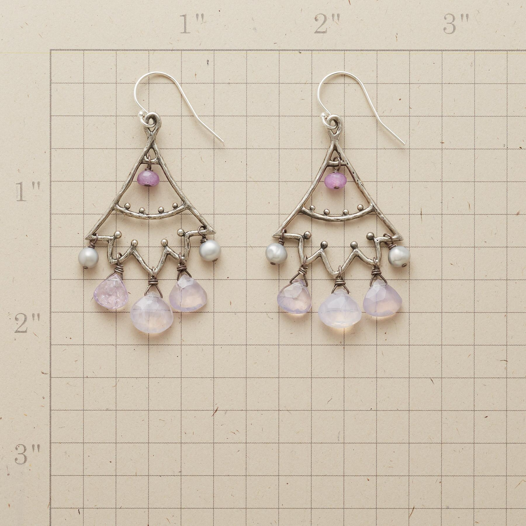 LILAC LUMIERE EARRINGS: View 2