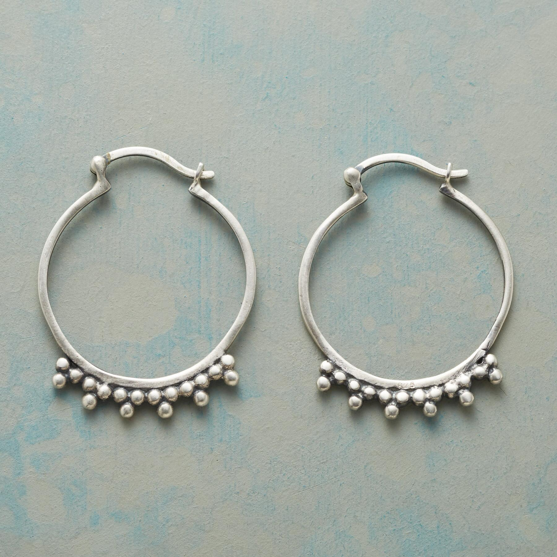 TENACITY HOOP EARRINGS: View 1