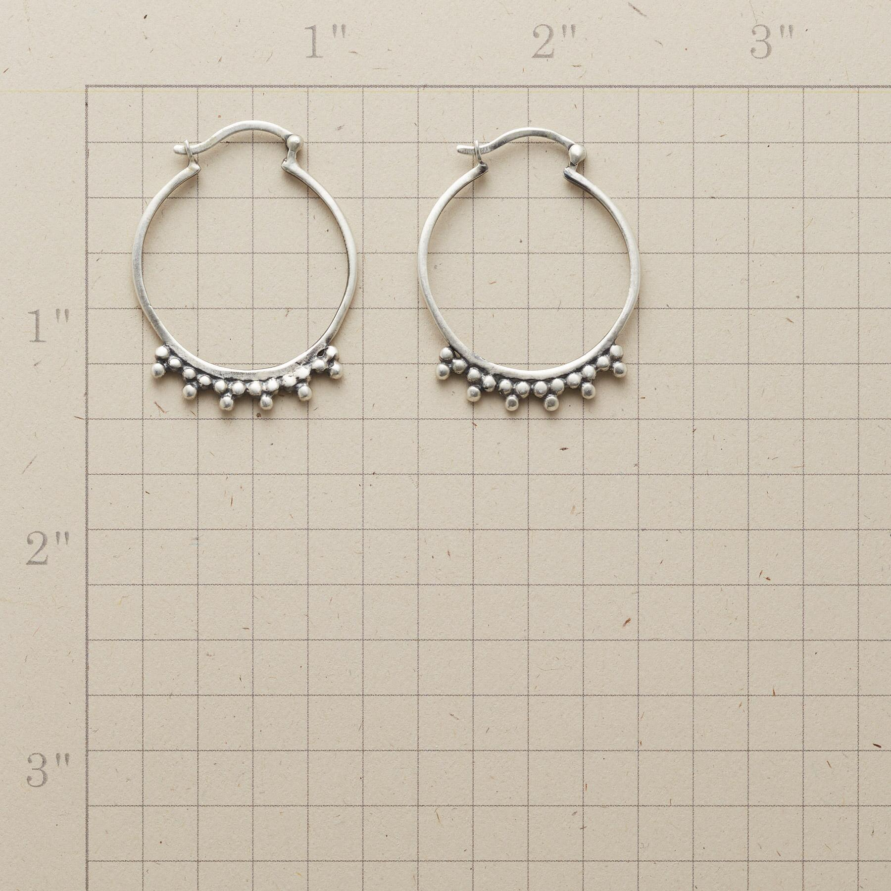 TENACITY HOOP EARRINGS: View 2